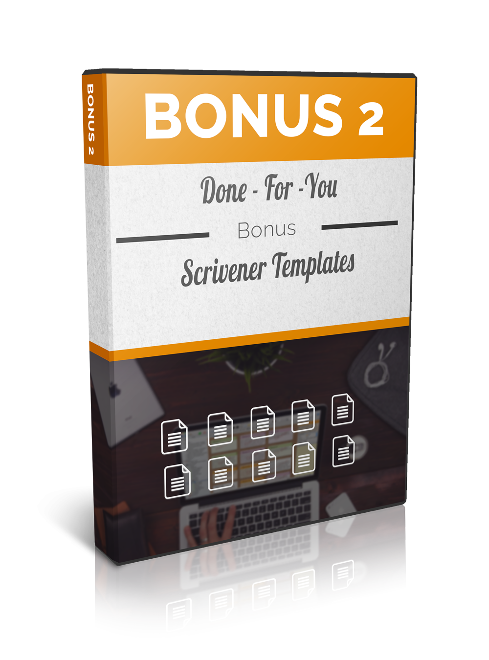 www.learn-scrivener-fast.com Scrivener Training & Coaching Course - Bonus 2 - Done For You Templates